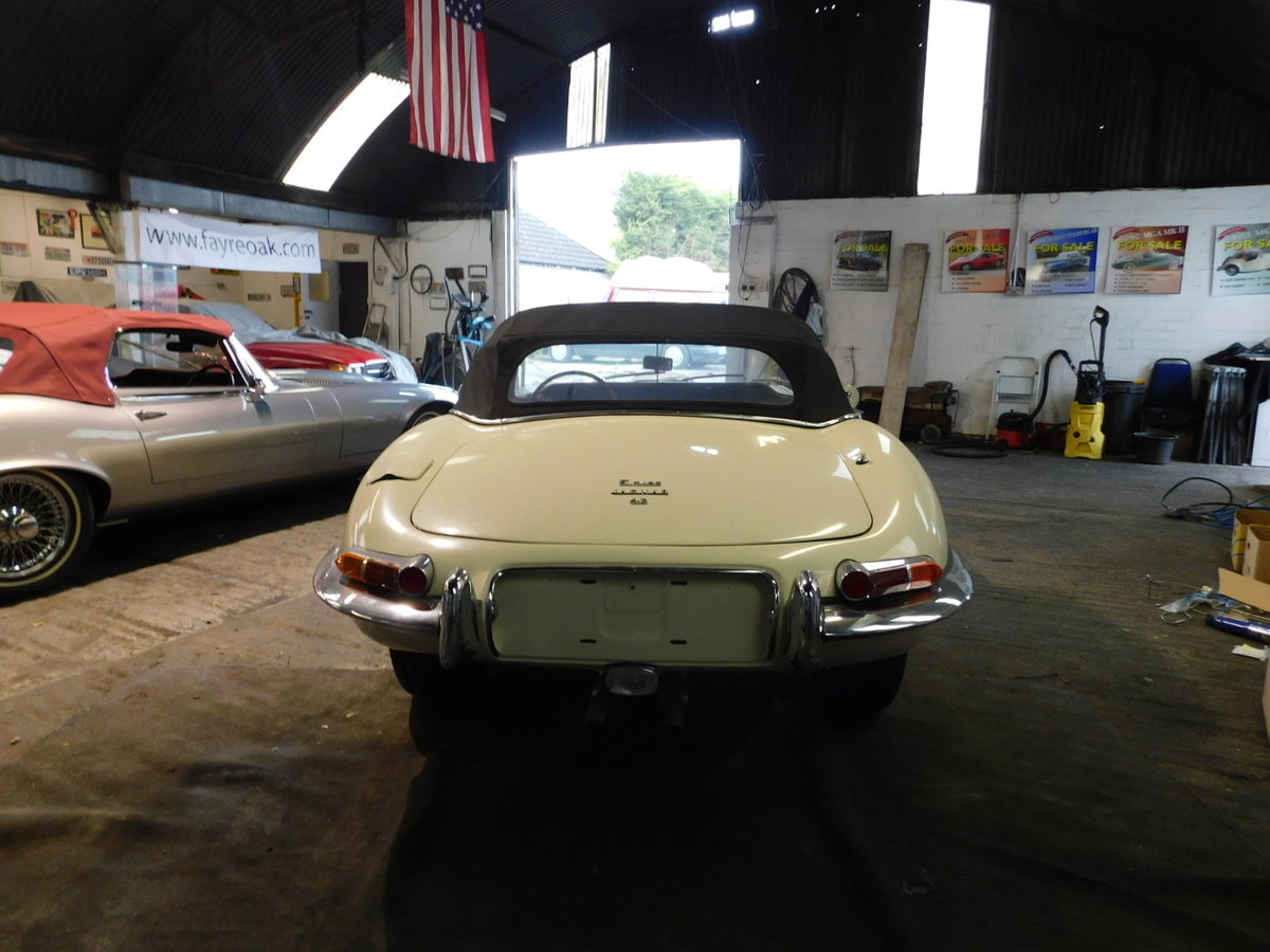 1966 JAGUAR E TYPE SERIES ONE ROADSTER For Sale (picture 3 of 6)