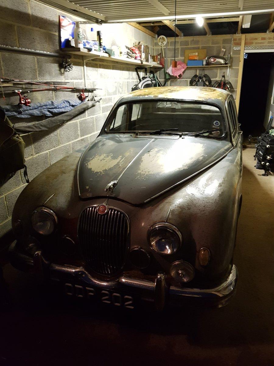 1957 Jaguar Mark 1 3.4 For Sale (picture 3 of 6)