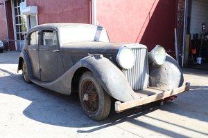 # 23125 1948 Jaguar MK IV 3.5 Litre Left-Hand-Drive Saloon. For Sale