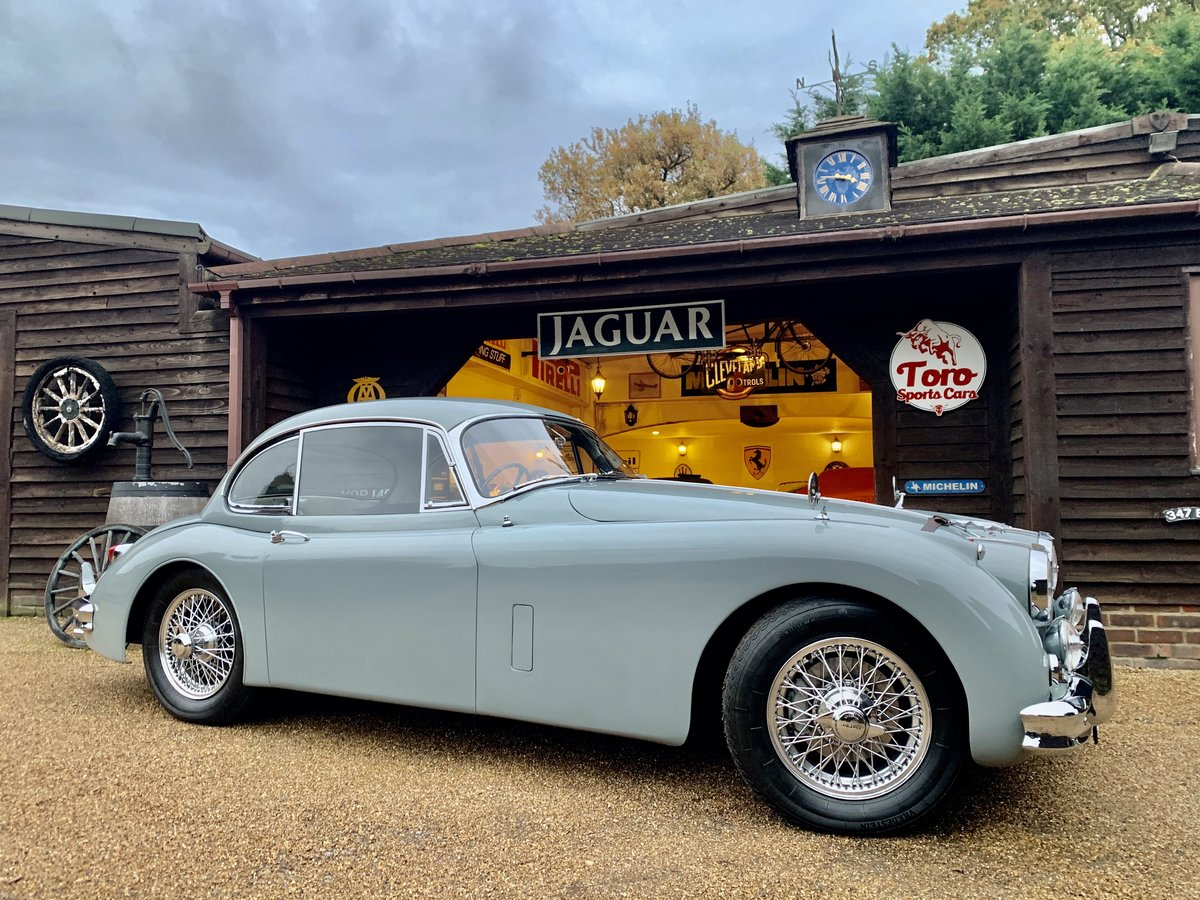 1958 JAGUAR XK150 3.4 F.H.C. U.K. R.H.D, FULL MATCHING NUMBERS! For Sale (picture 1 of 6)