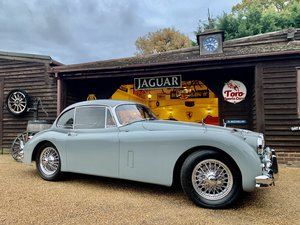 1958 JAGUAR XK150 3.4 F.H.C. U.K. R.H.D, FULL MATCHING NUMBERS! For Sale