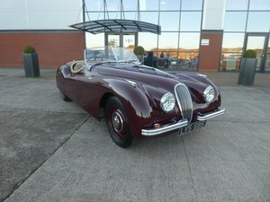 1952 Jaguar XK 120 Roadster SOLD