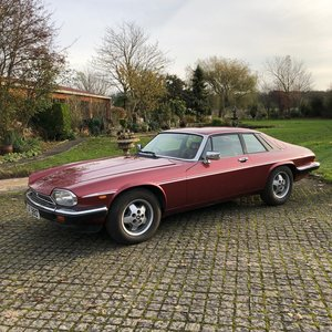1982 JAGUAR XJS HE AUTO  For Sale