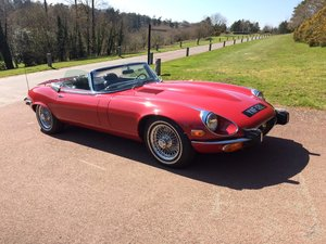 1973 V12 E type Roadster - Reduced For Sale