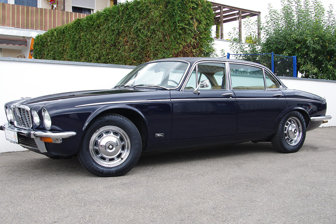 1976 Jaguar XJ 12 l MK II - LHD - from 2nd owner For Sale (picture 1 of 6)