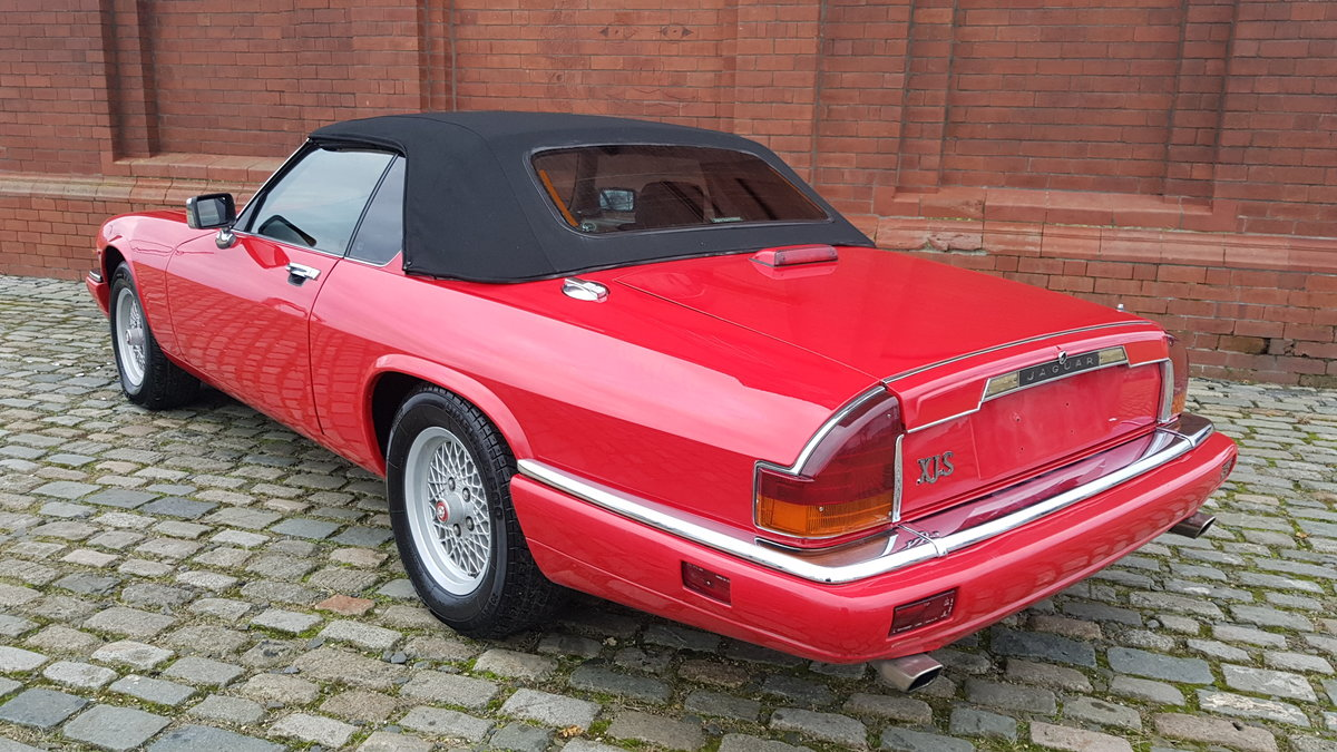 1991 JAGUAR XJS CONVERTIBLE 5.3 V12 RARE IMPORTED RHD AUTO * For Sale (picture 2 of 6)