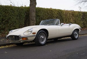 1974 Jaguar E-Type Series 3 V12 Roadster For Sale in London