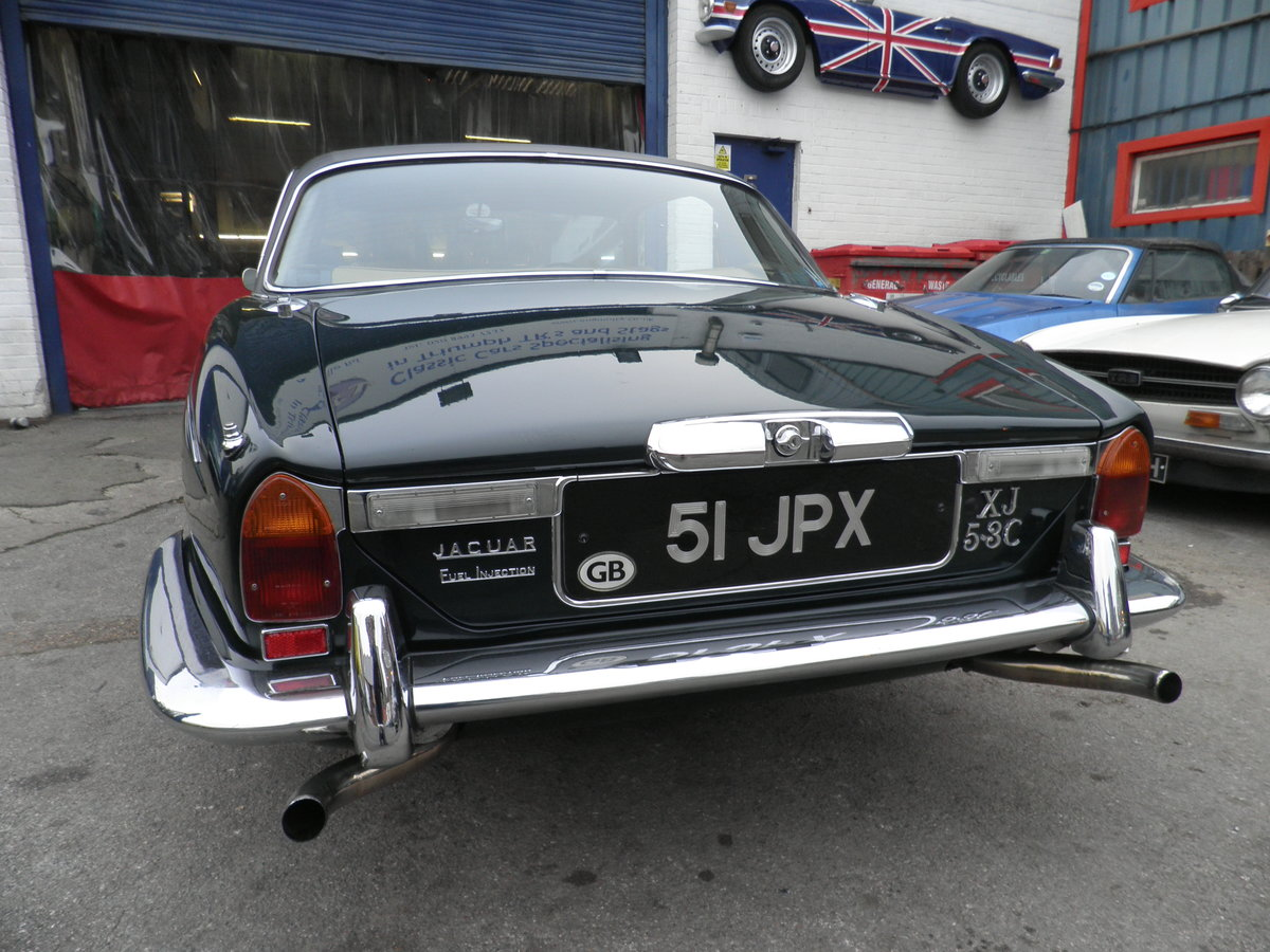 1975 Jaguar XJC V12 injection coupe For Sale (picture 4 of 6)
