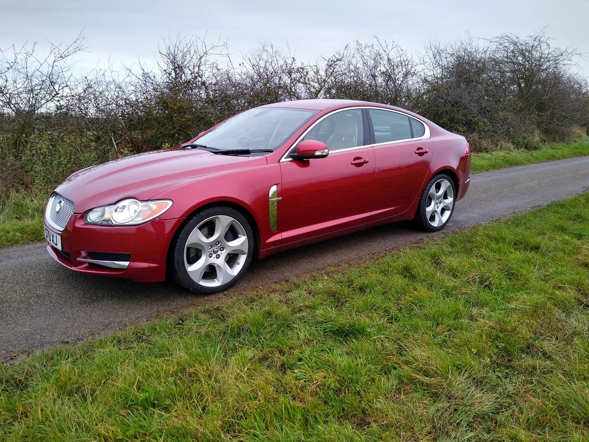 2008 Jaguar XF SV8,Rare,low miles,416 Bhp,Full history. For Sale (picture 1 of 6)