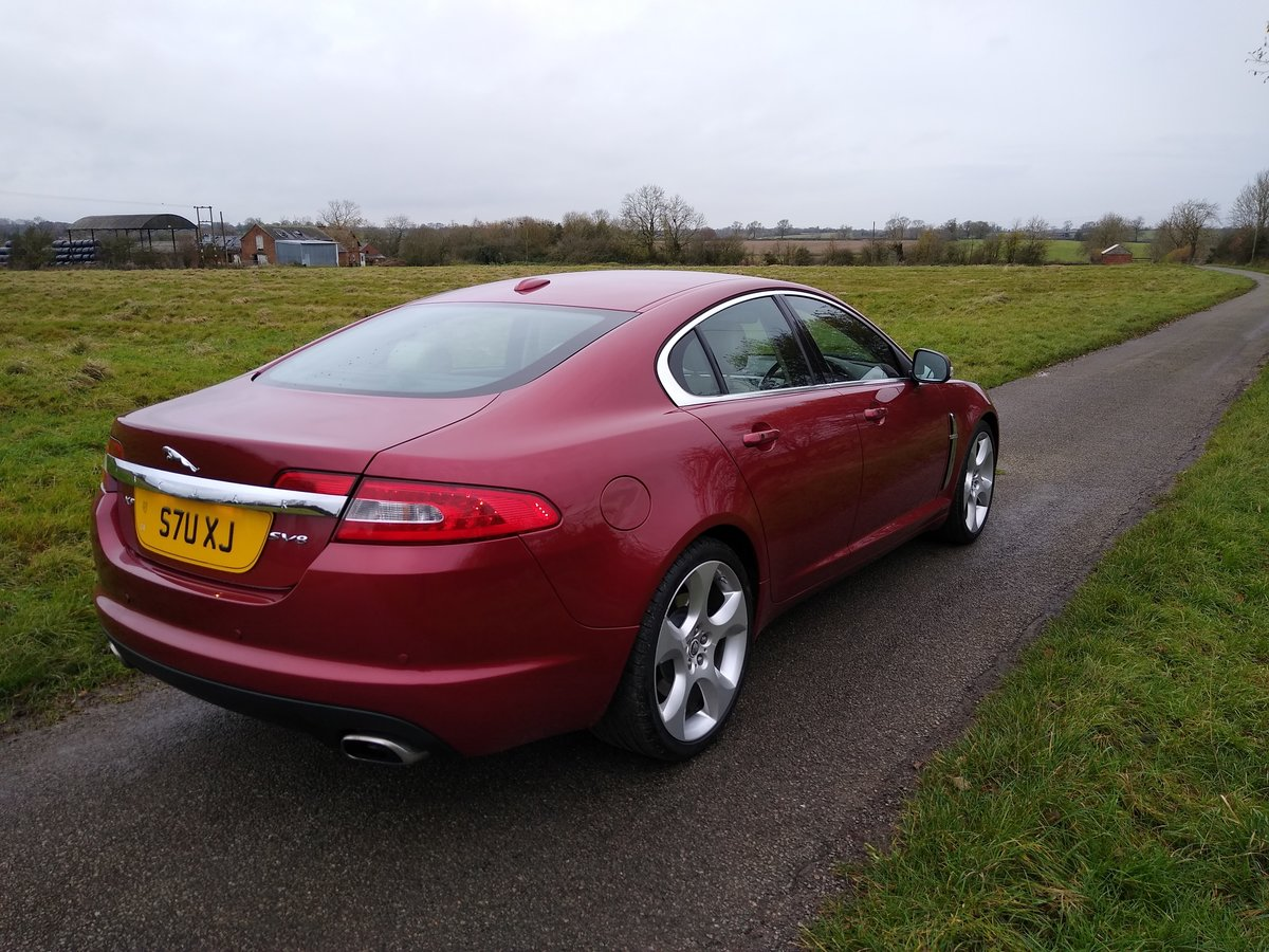 2008 Jaguar XF SV8,Rare,low miles,416 Bhp,Full history. For Sale (picture 3 of 6)