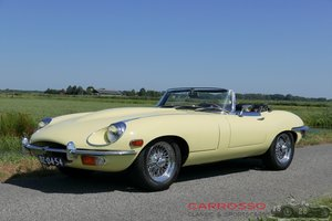 1970 Jaguar E-type Series 2 OTS Convertible Beautiful car For Sale