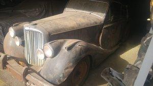 1950 Jaguar MK V project. 2 cars. For Sale