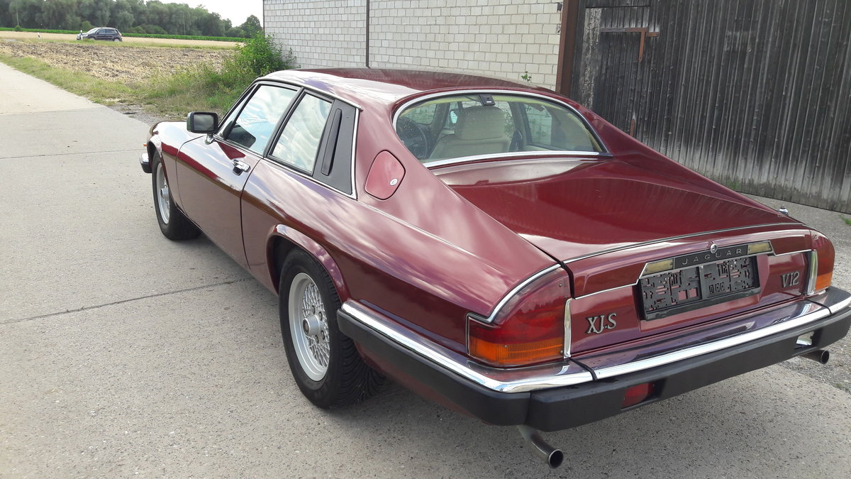 1989 JAG XJS RED For Sale (picture 2 of 6)