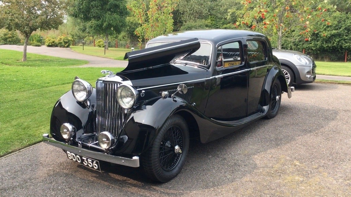 Jaguar 1.5 Saloon 1947, Simly Stunning For Sale (picture 1 of 6)