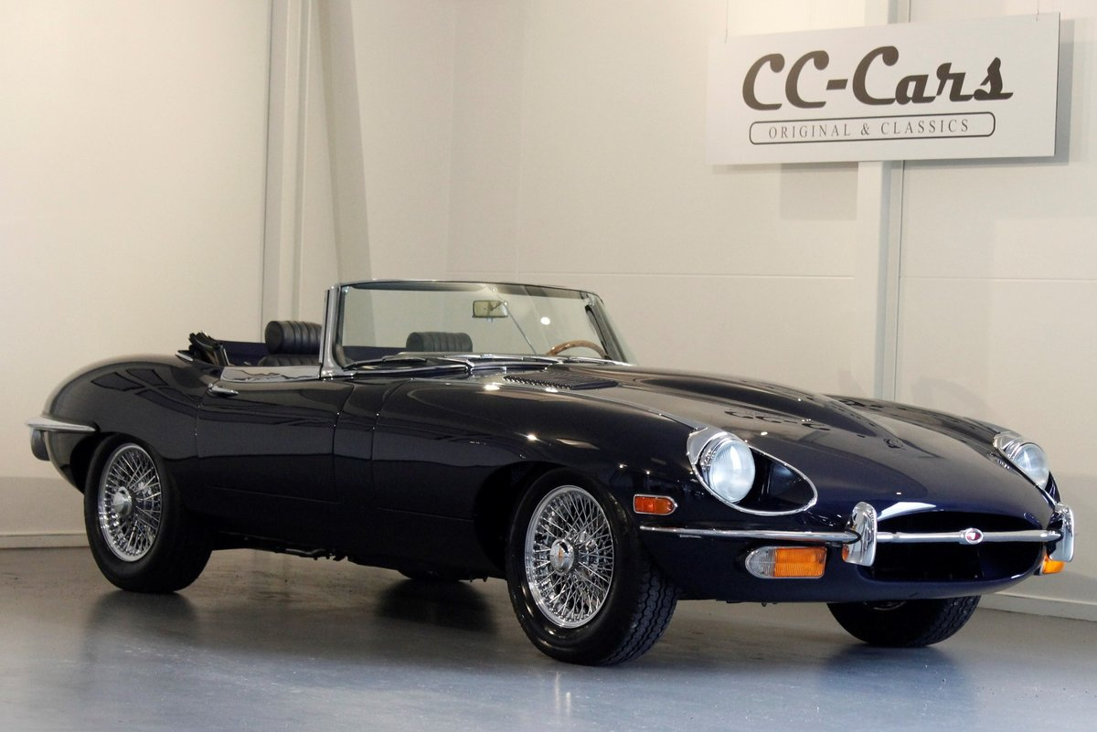 1969 Jaguar E-Type 4,2 Roadster For Sale (picture 1 of 6)