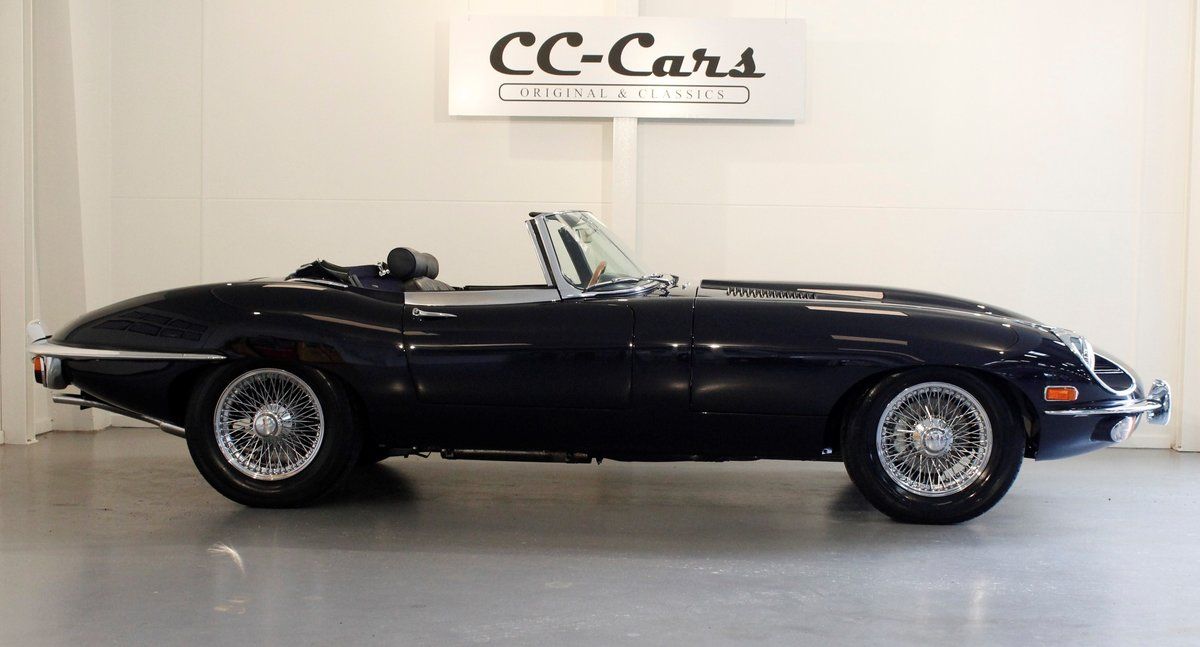 1969 Jaguar E-Type 4,2 Roadster For Sale (picture 2 of 6)