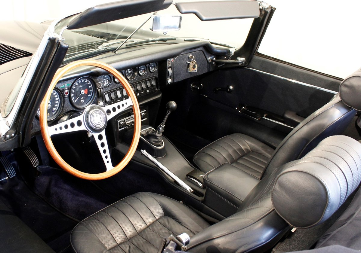 1969 Jaguar E-Type 4,2 Roadster For Sale (picture 6 of 6)