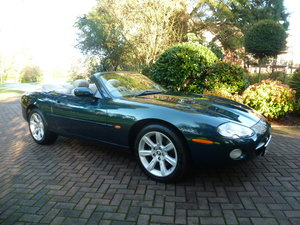 2002 Beautiful low mileage XK8 Convertible! SOLD