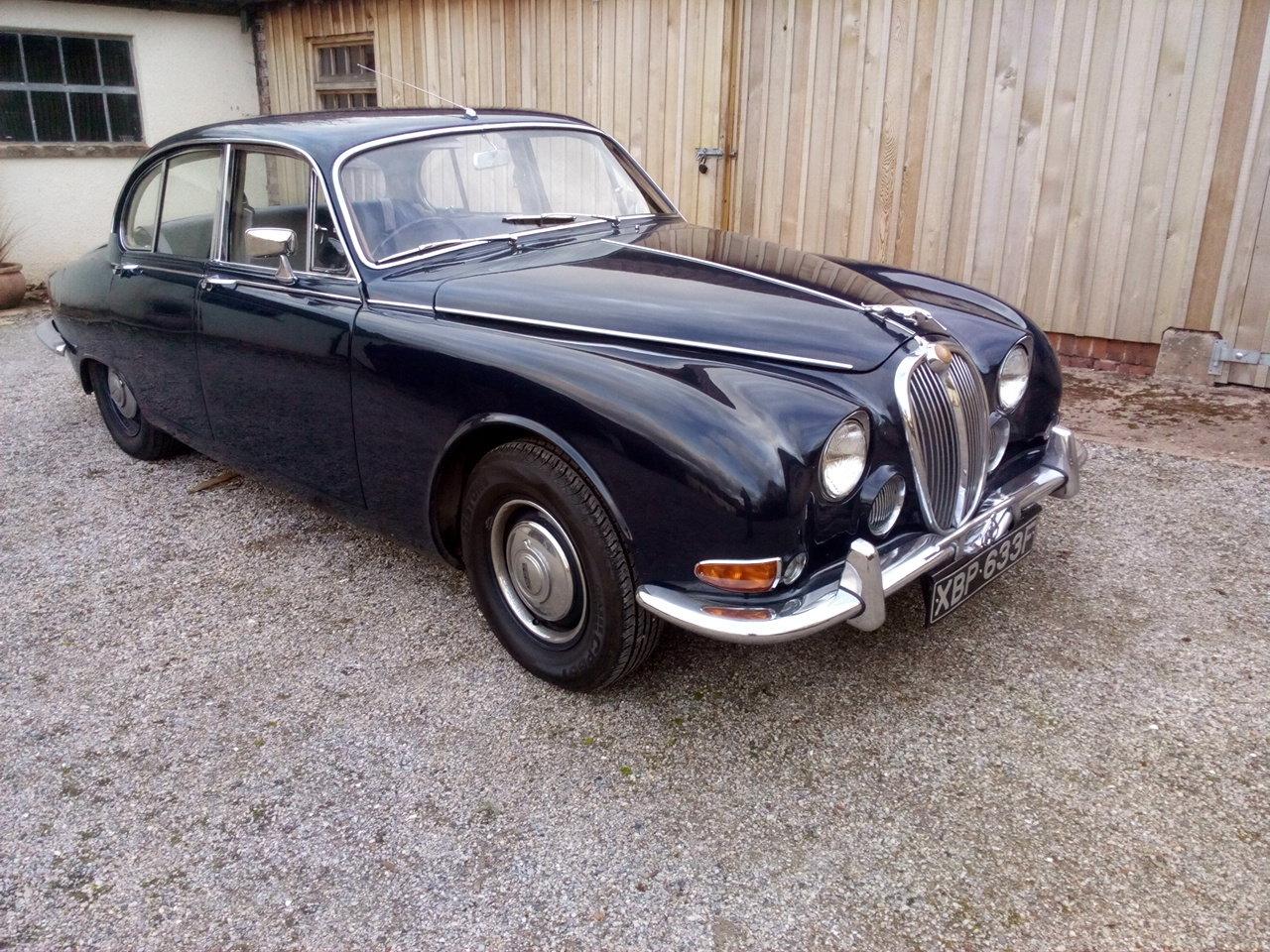 1968 Jaguar s-type 3.4 automatic – excellent cond For Sale (picture 1 of 6)