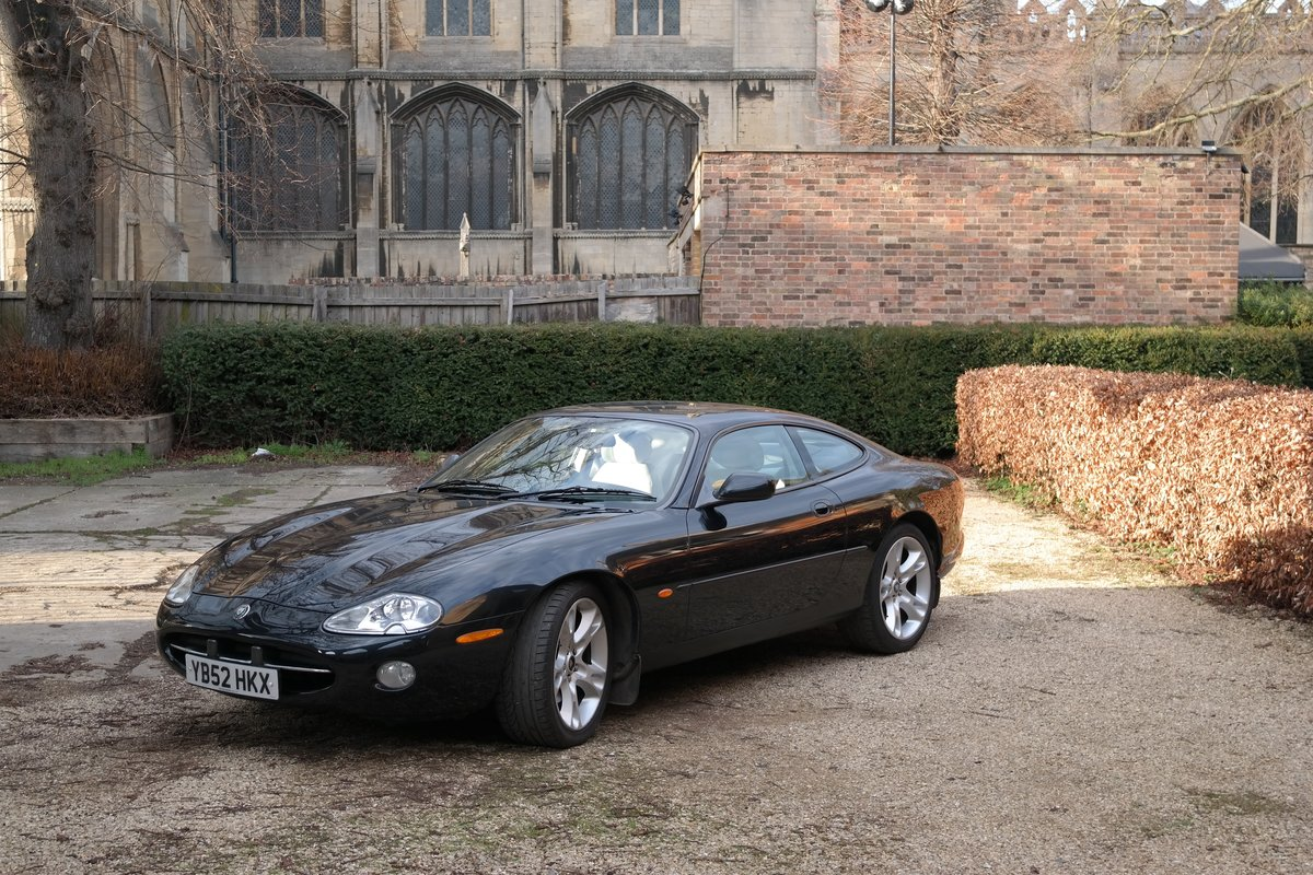 2002 Jaguar XK8 Coupe Early 4.2 litre 6 speed  For Sale (picture 1 of 6)