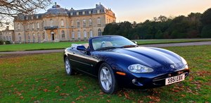1999 LHD Jaguar XK8 4.0 V8 Convertible, LEFT HAND DRIVE FSH For Sale