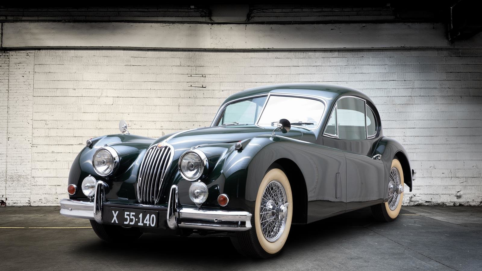 1956 Jaguar xk 140 3,4 fch For Sale (picture 1 of 6)