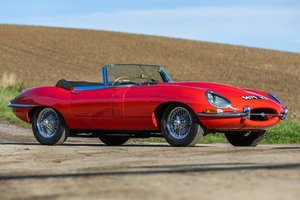 1962 Jag E-Type S1 3.8 Roadster to be Auctioned this weekend