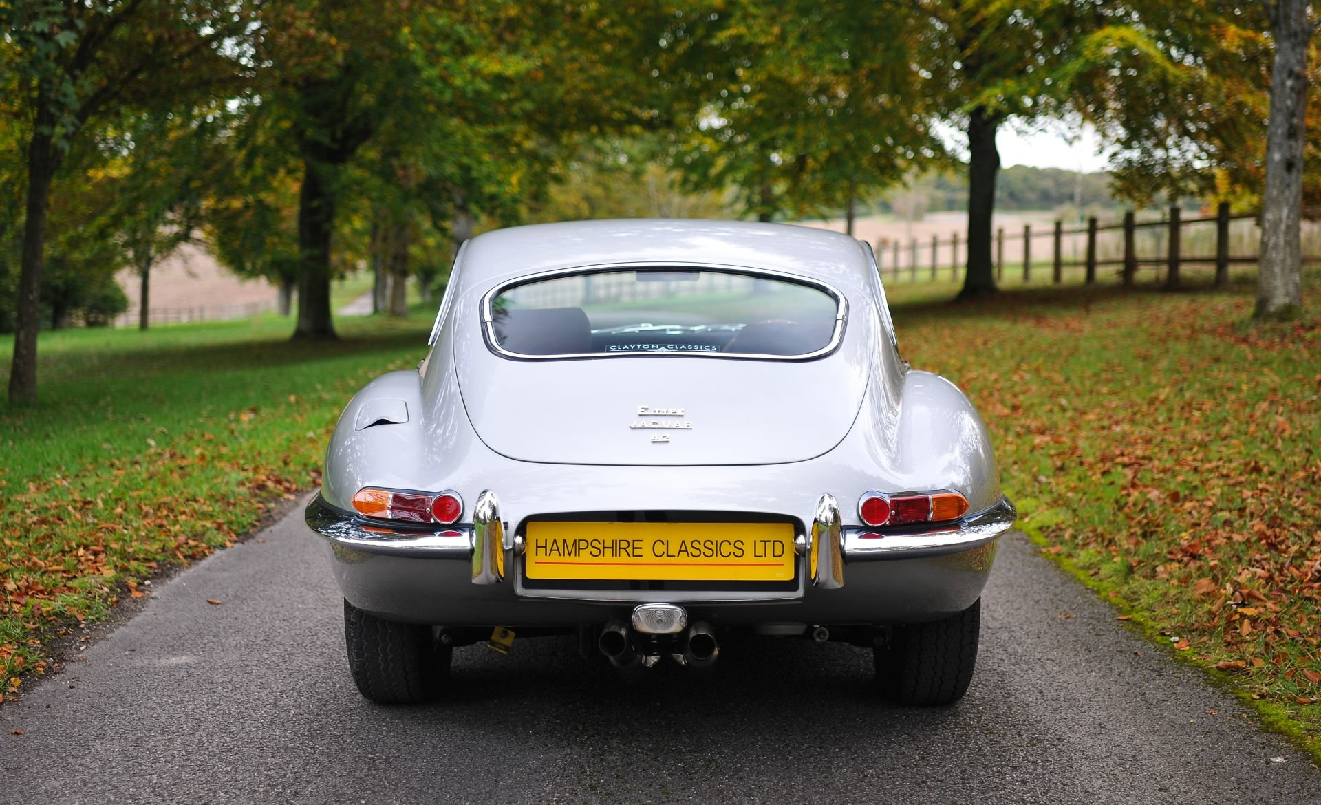 1967 Jaguar E-Type Coupe Series 1 4.2 Ltr  For Sale (picture 3 of 6)