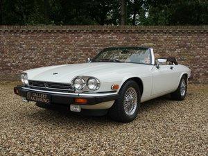 1989 Jaguar XJS V12 Convertible only 16.875 miles! superb origina For Sale