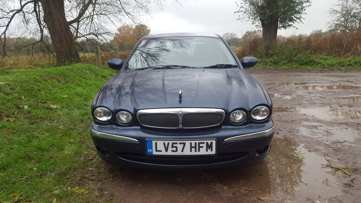 2007 Jaguar X-Type 2.2 Diesel Sovereign For Sale (picture 1 of 6)