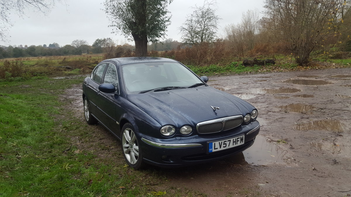 2007 Jaguar X-Type 2.2 Diesel Sovereign For Sale (picture 2 of 6)