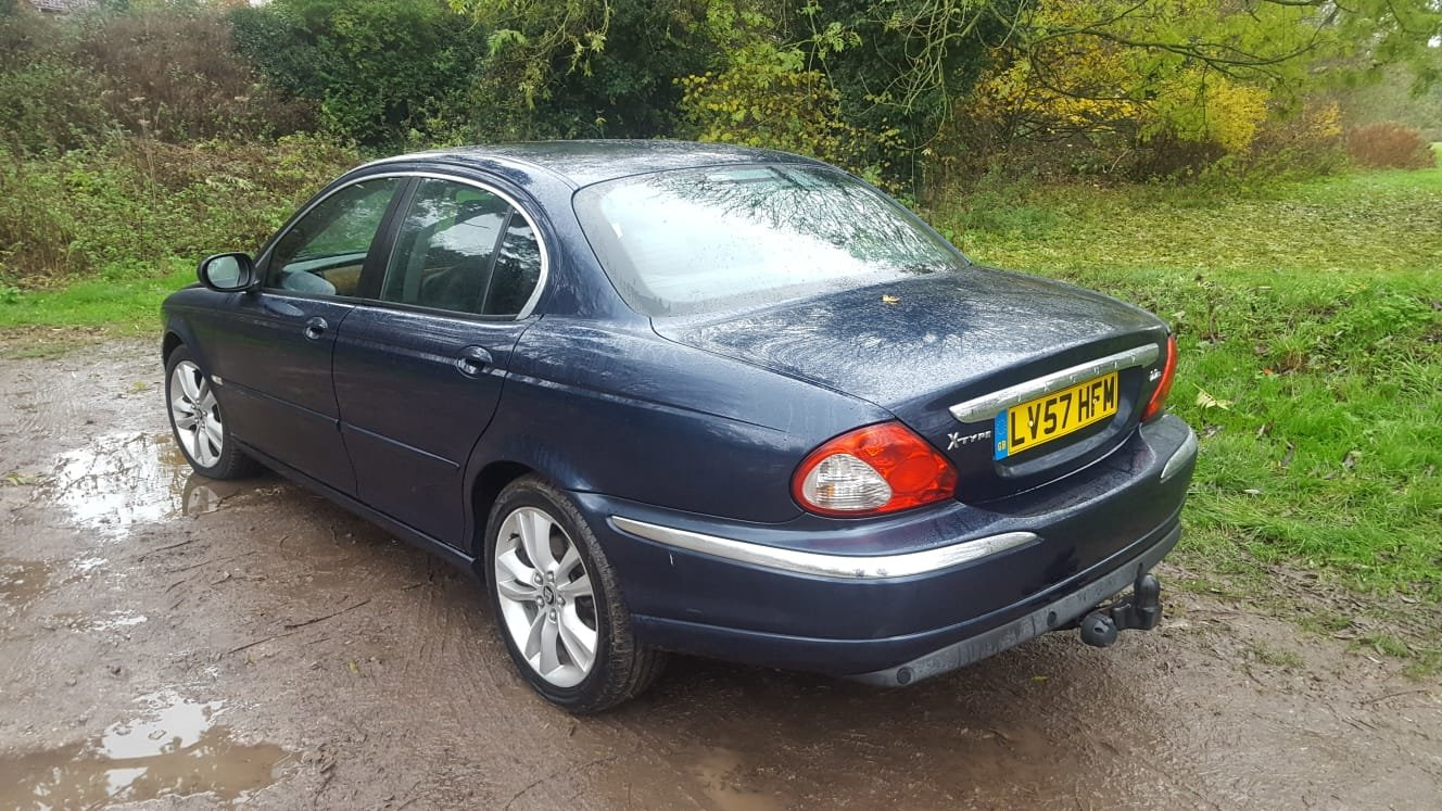 2007 Jaguar X-Type 2.2 Diesel Sovereign For Sale (picture 4 of 6)