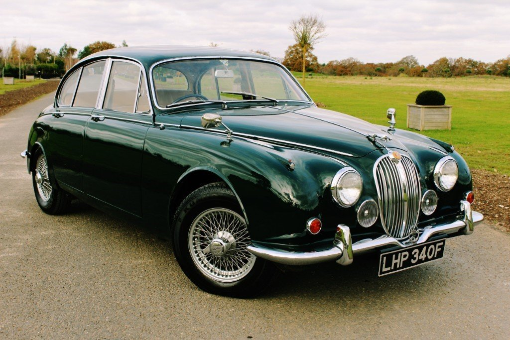 1967 Jaguar MKII 340 3.4 Manual Overdrive For Sale (picture 1 of 6)