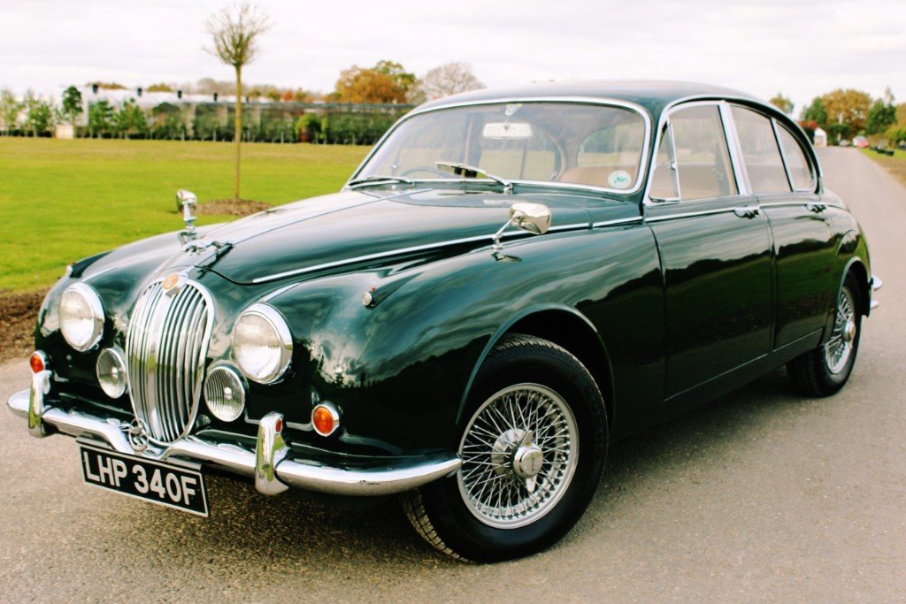 1967 Jaguar MKII 340 3.4 Manual Overdrive For Sale (picture 2 of 6)