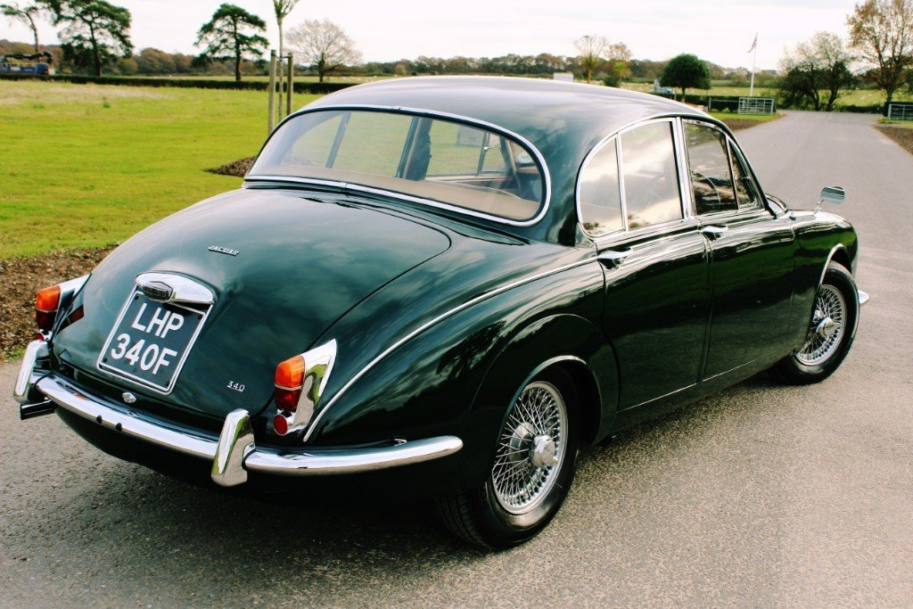 1967 Jaguar MKII 340 3.4 Manual Overdrive For Sale (picture 4 of 6)