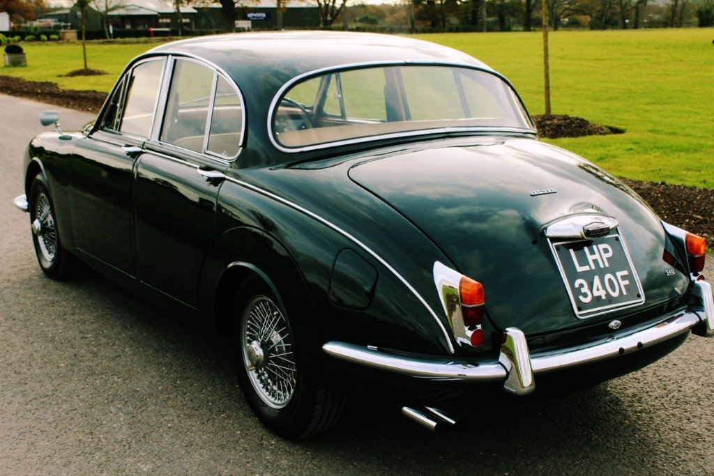 1967 Jaguar MKII 340 3.4 Manual Overdrive For Sale (picture 6 of 6)