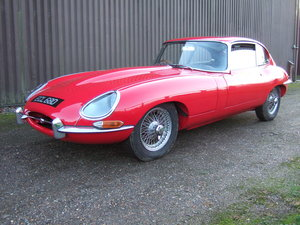 1966 Jaguar E Type Series 1. 2+2. 4.2 Litre.Manual For Sale