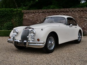 1960 Jaguar XK 150 FHC Special Equipment factory overdrive, EU ca For Sale