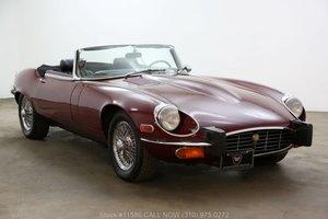 1974 Jaguar XKE V12 Roadster