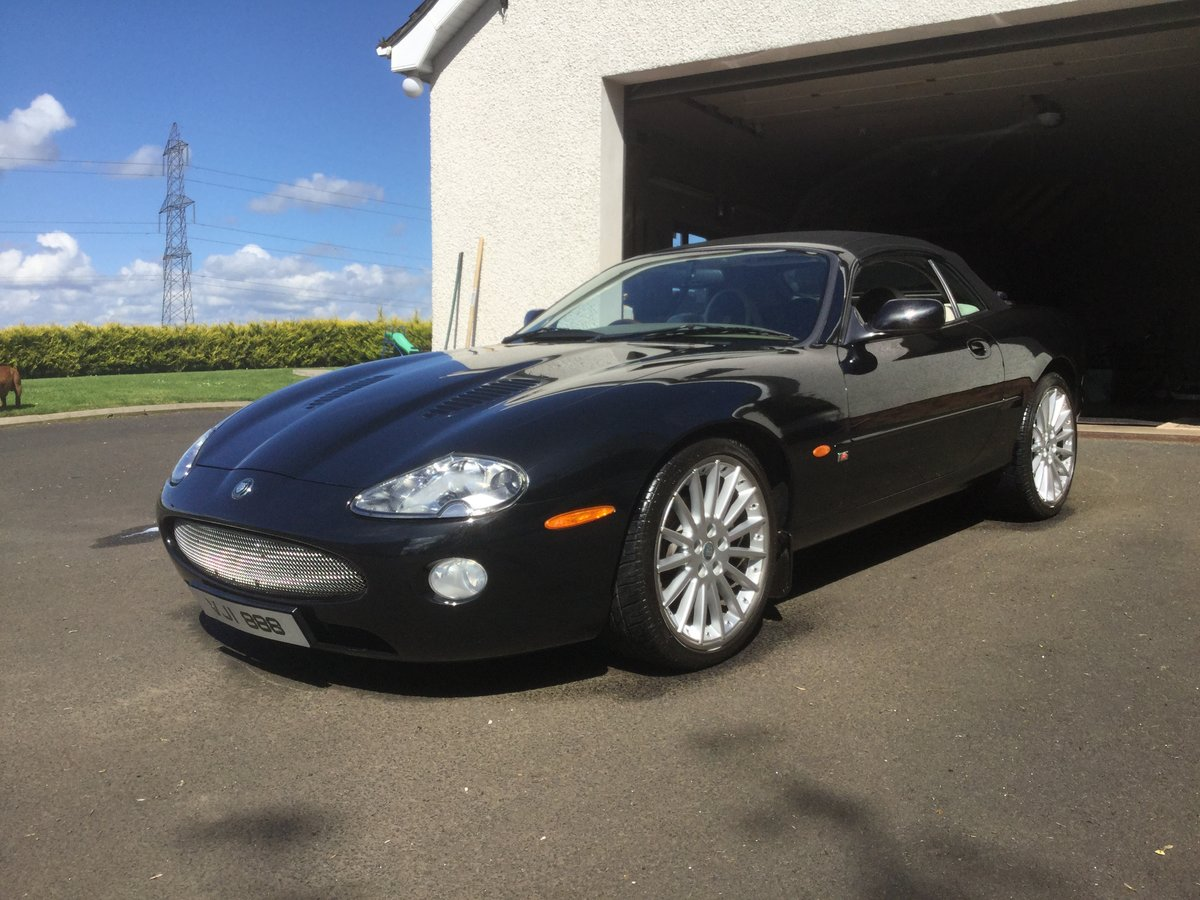 1998 xk8 convertable low mileage For Sale (picture 1 of 6)