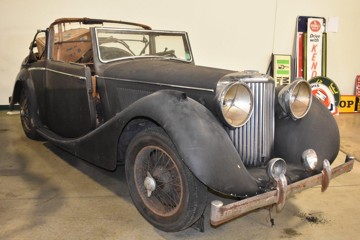 # 22921 1948 Jaguar Mk IV 3 ½-Liter Drophead Coupe  For Sale (picture 1 of 6)