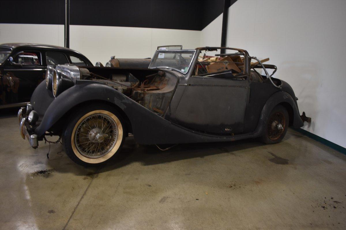 # 22921 1948 Jaguar Mk IV 3 ½-Liter Drophead Coupe  For Sale (picture 2 of 6)