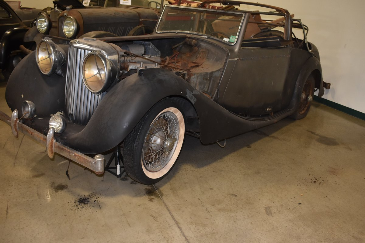 # 22921 1948 Jaguar Mk IV 3 ½-Liter Drophead Coupe  For Sale (picture 3 of 6)