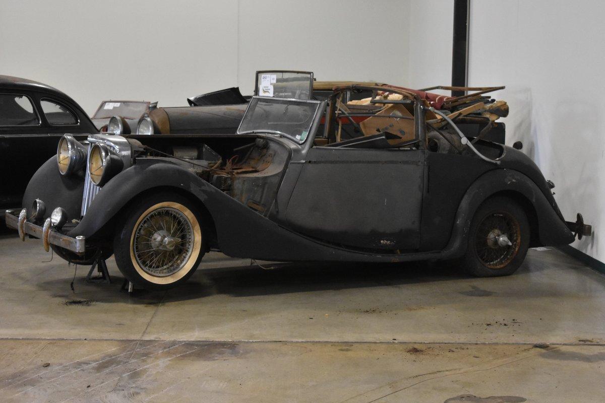 # 22921 1948 Jaguar Mk IV 3 ½-Liter Drophead Coupe  For Sale (picture 4 of 6)