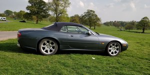 1996 Jaguar XK8 Convertible LPG conversion