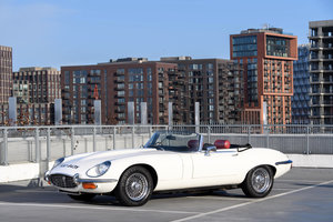 1972 Jaguar E-Type V12 Roadster Manual For Sale