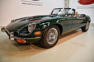Jaguar E-type V12 Roadster 1972 For Sale by Auction