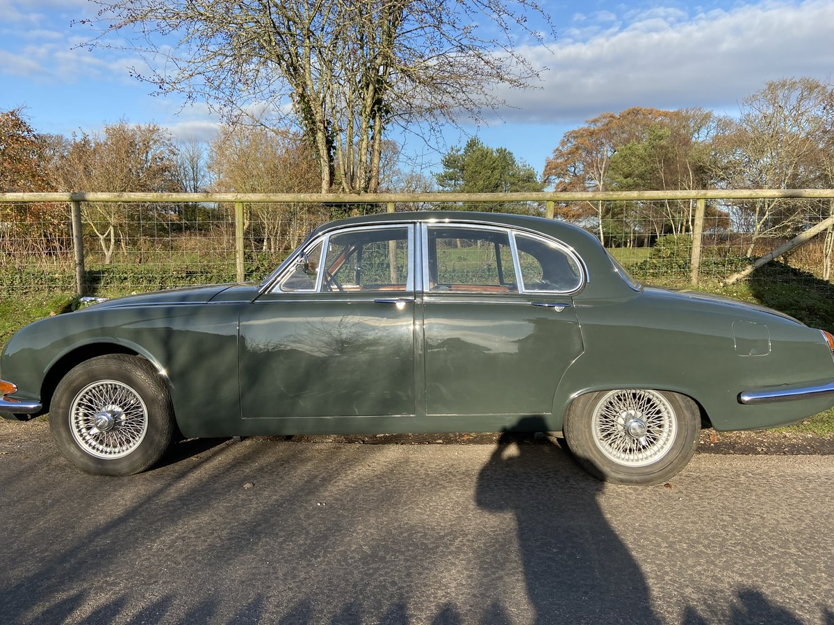 1964 Jaguar 3.8 S Type Manual with OD For Sale (picture 1 of 6)