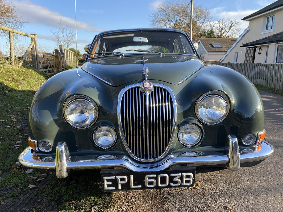 1964 Jaguar 3.8 S Type Manual with OD For Sale (picture 2 of 6)