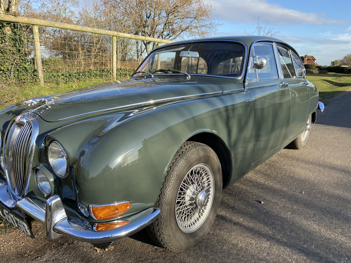 1964 Jaguar 3.8 S Type Manual with OD For Sale (picture 3 of 6)